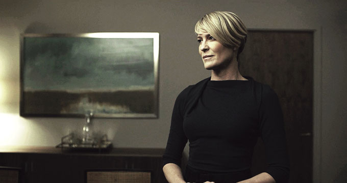 garde-robe Claire Underwood