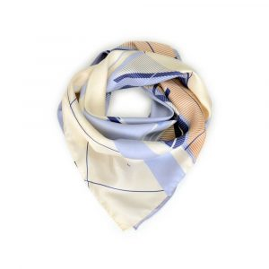 Shandor sur Dressing Responsable : foulard Mark en soie made in France