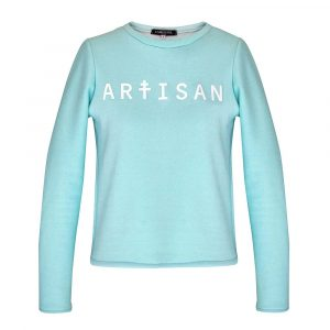 Carrousel Clothing sur Dressing Responsable : sweat Artisan vert turquoise made in France