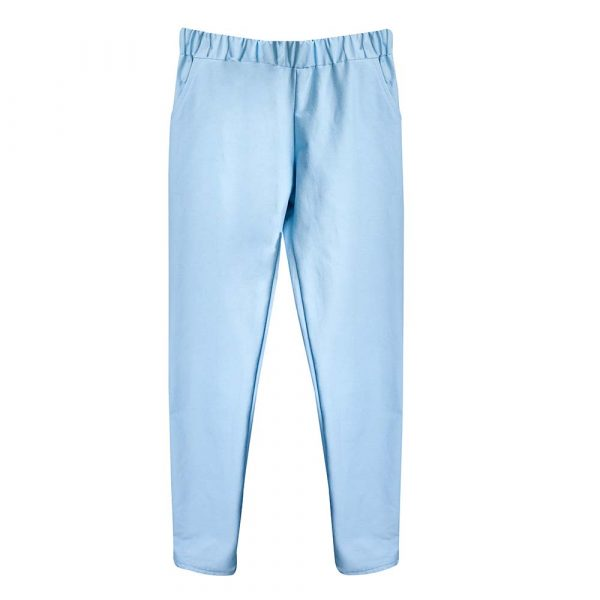Carrousel Clothing sur Dressing Responsable : pantalon Baby Blue bleu pastel made in France