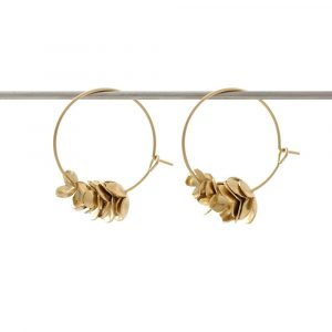 My Sen sur Dressing Responsable: créoles pomme de pin, boucles d'oreilles made in France