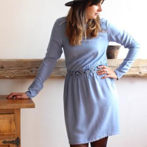 Nounsia sur Dressing Responsable : robe Jo ciel made in France
